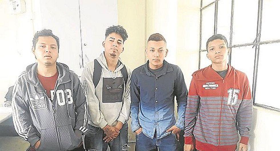 Caen cuatro extranjeros por intentar asaltar a un cambista del centro de Tumbes