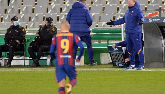 Barcelona cayó 3-2 ante Athletic de Bilbao este domingo en la Supercopa de España, disputada en Sevilla, a pesar de adelantarse dos veces en el marcador. (Foto: AFP)