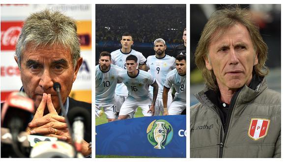 Selección peruana: Juan  Carlos Oblitas habló sobre el supuesto interés de Argentina por Ricardo Gareca