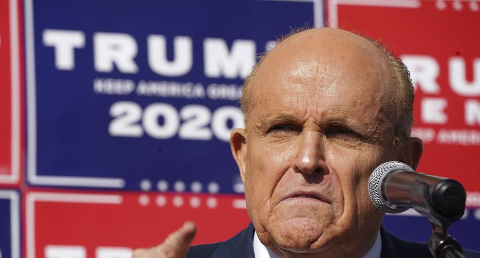 Rudy Giuliani, fiel abogado del expresidente de Estados Unidos Donald Trump. (Foto: Bryan R. Smith / AFP).