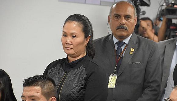 Decisión del TC sobre caso Keiko Fujimori se emitiría el jueves