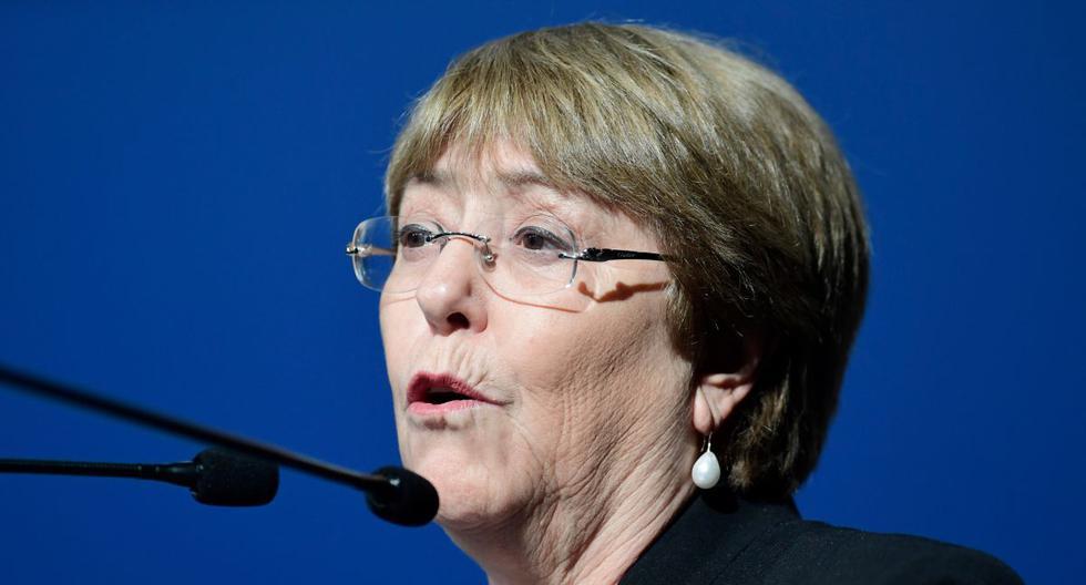 Imagen de Michelle Bachelet, Alta Comisionada de la ONU para los Derechos Humanos. (CRISTINA QUICLER / AFP).