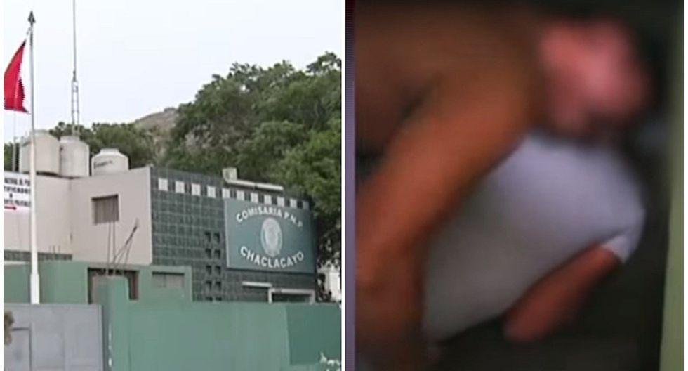 Chaclacayo: Graban a agentes de la PNP en actos obscenos dentro comisaría (VIDEO)