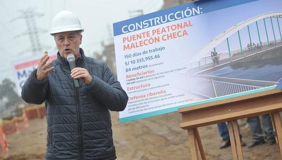 Jorge Muñoz pide a consorcios de peajes hallar solución ante reclamo de vecinos de Puente Piedra