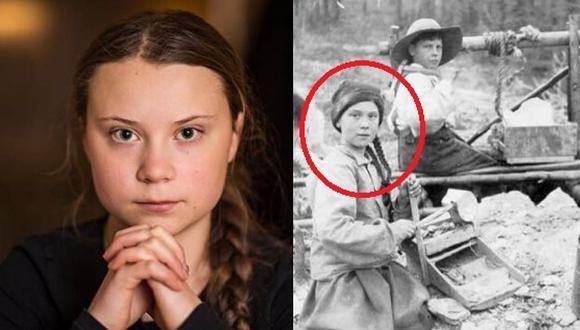 La misteriosa imagen de hace 120 años de una joven idéntica a Greta Thunberg