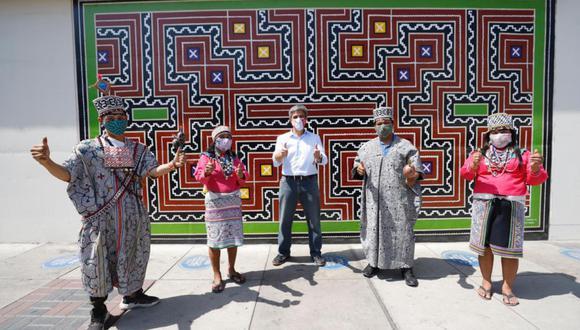 """Los murales forman parte de la campaña """"Amo mis Raíces"""", que el sector Cultura viene impulsando a nivel digital para la promoción de la diversidad cultural en el Perú. (Foto: Ministerio de Cultura)"""