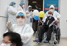 COVID-19: 902 personas fueron dadas de alta este domingo 19 de setiembre en Perú