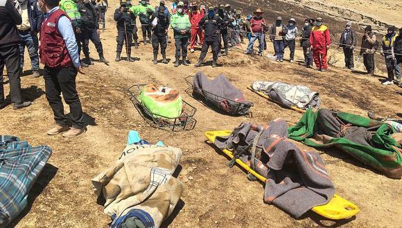 Día trágico en Cusco: confirman ocho muertos y más de 40 heridos en incendio forestal (FOTOS)