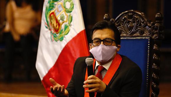 El nuevo presidente de la Corte de Arequipa, Javier Fernández Dávila Mercado, tiene 18 años de experiencia| Foto: Eduardo Barreda