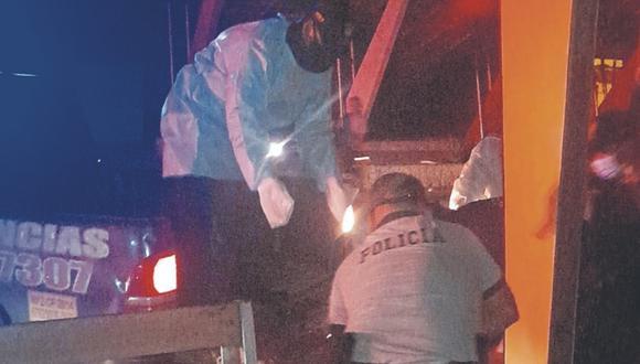 Policías investigan el hecho. No se descarta que haya sido por una disputa por tema de drogas.