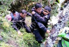 Menor desaparecido en Apurímac es hallado con vida al fondo de barranco (VIDEO)