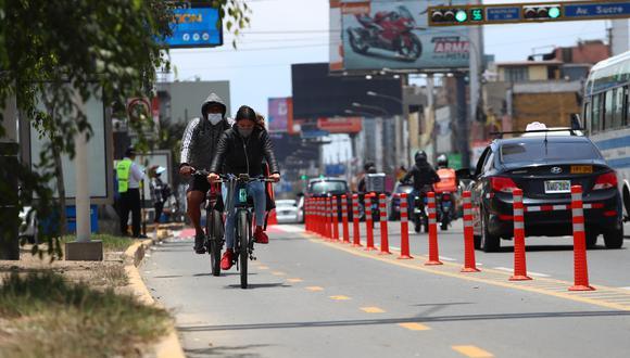 Entre las vías que se cerrarán para realizar actividades de recreación figuran la Costa Verde, desde las 6 a. m. hasta las 4 p. m. (Foto referencial: GEC)