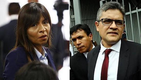 """Giuliana Loza señala que el fiscal José Domingo Pérez """"sabe"""" que el nuevo pedido de prisión es """"insustentable, innecesario, y desproporcionado""""."""