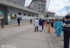 Hospital regional cumplió 57 aniversarios en medio de protestas y plantones