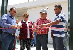Zafranal entrega clinica temporal para Huancarqui