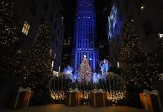 EE.UU.: Nueva York enciende tradicional árbol navideño del Rockefeller Center (FOTOS)