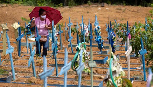Las cifras confirman a este país de 212 millones de habitantes como uno de los más castigados por la COVID-19 en el mundo y como el segundo en número de muertes después de Estados Unidos y el tercero en infecciones tras la EE.UU. e India. (Foto: Michael DANTAS / AFP)