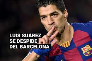 El emotivo discurso de Luis Suárez en su despedida con el FC Barcelona