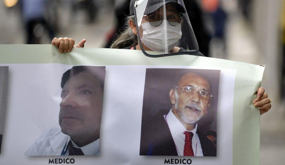 Colombia reporta hasta el momento 643 muertos y 18.339 contagios. (Foto: AFP/Raúl ARBOLEDA)