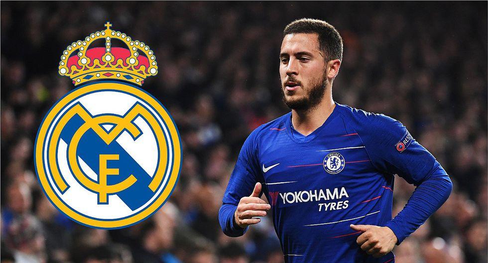 Eden Hazard firmará por el Real Madrid al término de la Europa League