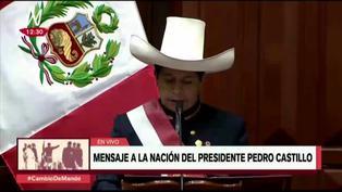 """Pedro Castillo anuncia que el Internet """"no será un servicio, sino un derecho"""" (VIDEO)"""