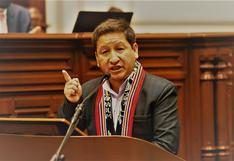 Exigen que el Congreso censure al premier Guido Bellido
