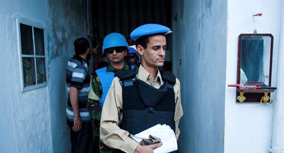 ONU se prepara para retirar sus observadores de Siria