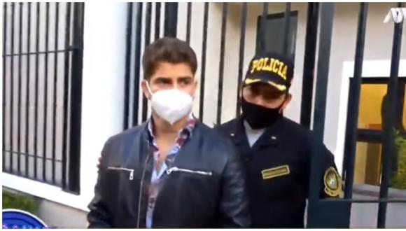 Diego Zurek vuelve a ser intervenido en 'fiesta covid'. (Foto: ATV)