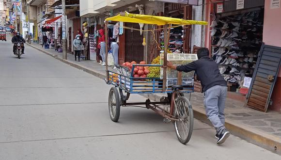 La informalidad en Huancavelica superó el 80% en el 2020.