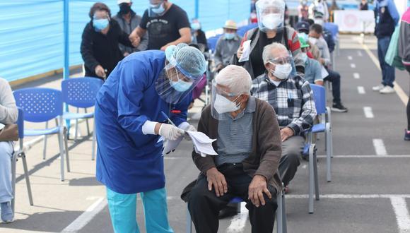 Mayor orden en proceso de vacunación en Arequipa| Foto: Eduardo Barreda