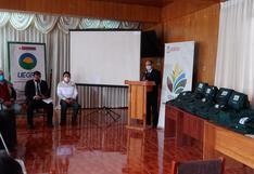Gobierno regional de Cusco recibe 20 tablets para mejorar información agraria