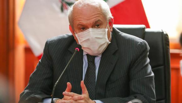 El primer ministro, Pedro Cateriano (Foto: Presidencia)