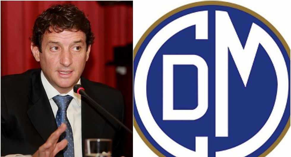 Renzo Reggiardo presentó su candidatura a la presidencia del club Deportivo Municipal