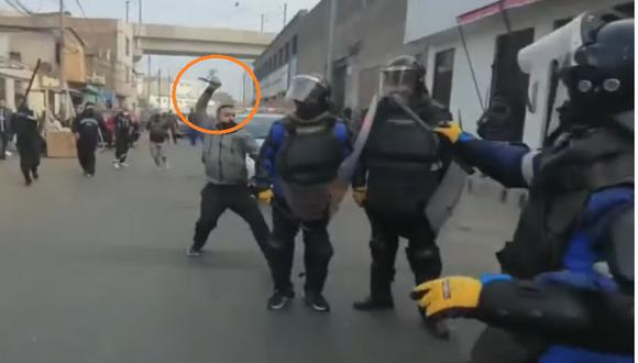 Imágenes captadas en el Cercado de Lima causaron gran impacto en las redes sociales. (Captura YouTube)