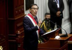 """Martín Vizcarra: """"Vamos entendiendo por qué tanto afán de ataque al Gobierno"""""""