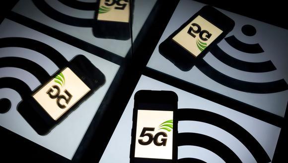 La tecnología 5G permite aumentar los niveles de velocidad casi 10 o 20 veces que el nivel del 4G, dependiendo de una serie de factores. (Foto: AFP)