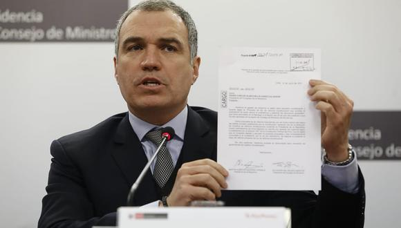 """Salvador del Solar: """"Proponemos que las elecciones se adelanten para el tercer domingo de abril"""""""