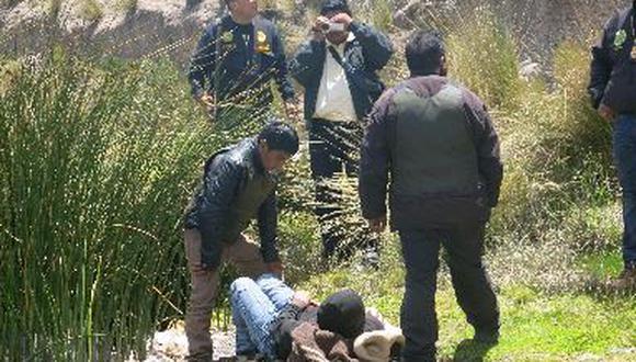 Los Malditos recrearon asesinatos de dos de sus víctimas en Juliaca