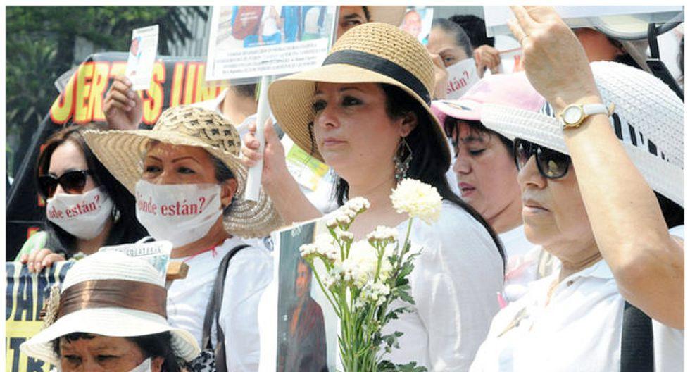 México: mujeres marchan por sus hijos desaparecidos en el Día de la Madre