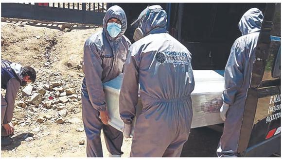 En últimos 7 días se han registrado 74 decesos en Áncash, 20 casos menos que la semana anterior.