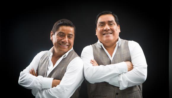 Walter y Javier, fundadores de la orquesta Los Hermanos Yaipén.   Foto: GEC