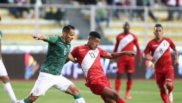 Perú vs. Bolivia en el Hernando Siles por las Eliminatorias a Qatar 2022. (Foto: FPF)