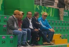 Lima 2019: Martín Vizcarra acudió a ver a los tenistas peruanos (FOTO)