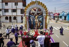 Señor de Los Milagros recorrió las calles de Cartavio (VIDEO)