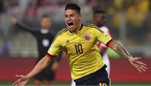 Perú vs Colombia: Este gol de James Rodríguez deja a la 'Blanquirroja' fuera del Mundial por ahora (VIDEO)