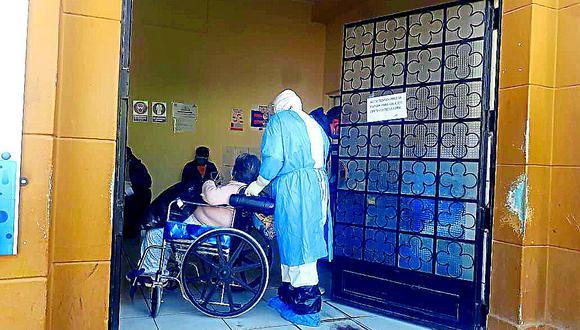 Madre, hijas y nietos aquejados por coronavirus en Huancayo