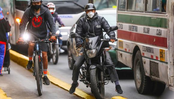 La Municipalidad de Lima informó que la obstrucción de las ciclovías se multa con 528 soles. (Foto: Difusión)