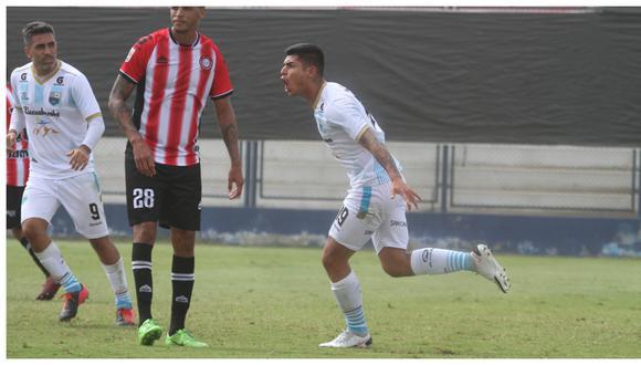 """El trujillano Luis Ramos debutó con el cuadro """"turquesa"""" y marcó un tanto en el Estadio Iván Elías Moreno. (Foto: Liga de Fútbol Profesional)"""