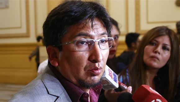 "Pacori sobre interpelación a Zeballos: ""Buscan condiciones para que acuerdo (con Odebrecht) no prospere"""