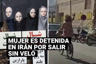 Una joven es arrestada en Irán por no llevar el velo puesto y violar la norma
